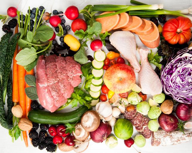 Допустимые продукты при палео диете