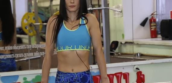 Упражнения с гантелями фитнес видео