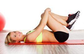 Фитнес тренировка для дома