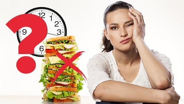 схема периодического голодания