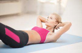 Упражнения для девушек в домашних условиях