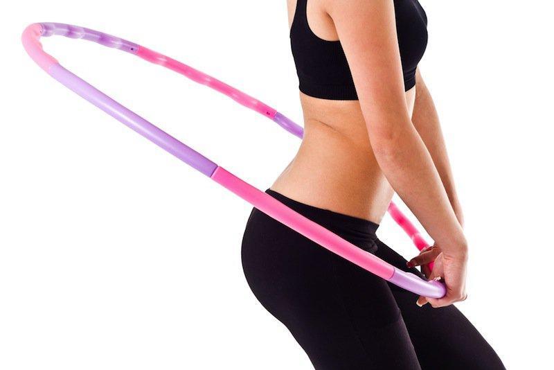 Упражнения с хулахупом для талии