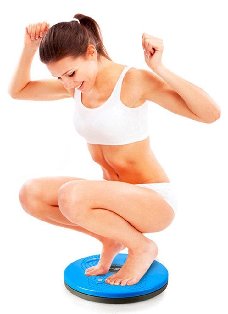 Вариант упражнения на диске здоровья
