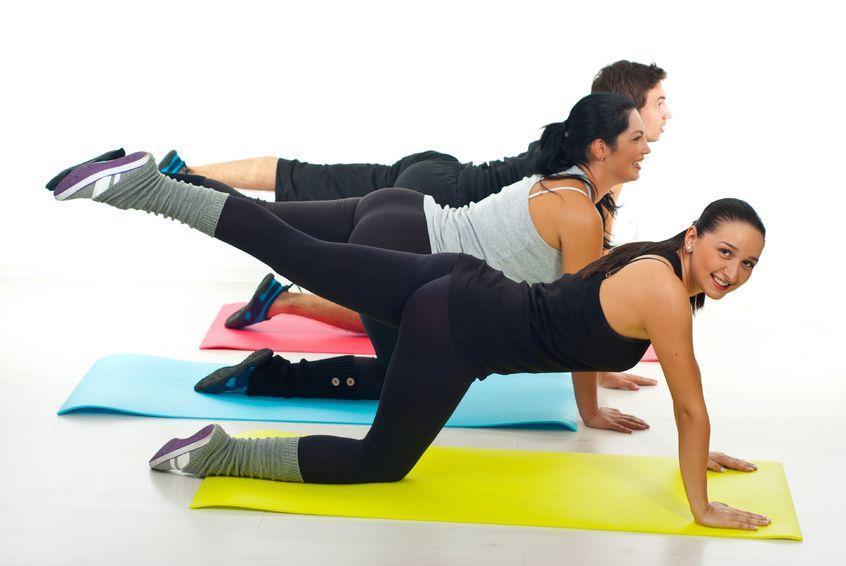 Упражнение которое поможет накачать проблемные зоны