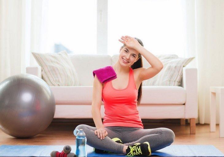 Комплекс домашних упражнений для похудения