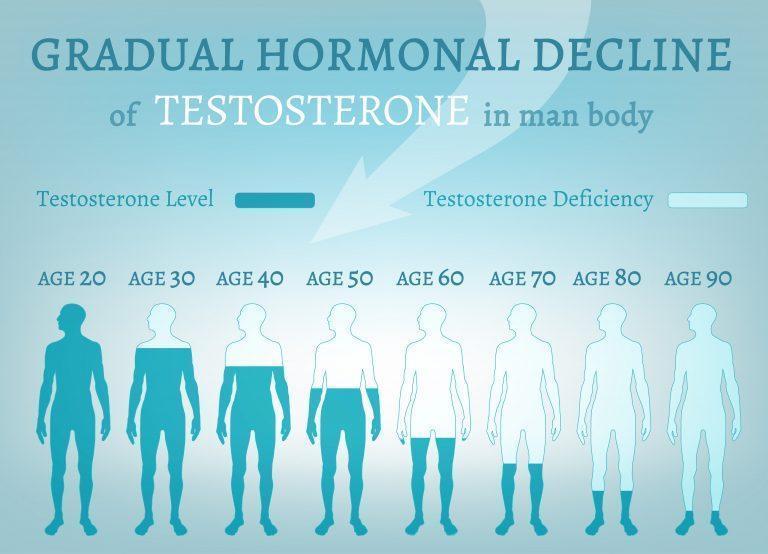 Уровень тестостерона в мужском организме в зависимости от возраста