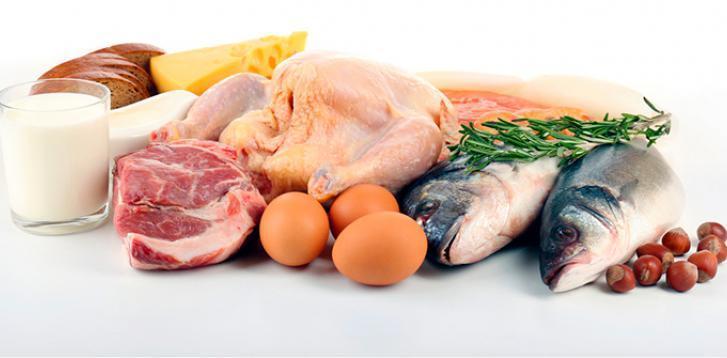 Протеины в натуральной пищи