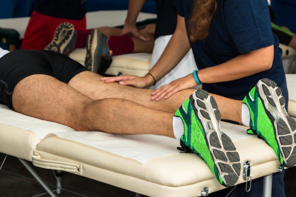 Особенности тренировочного массажа