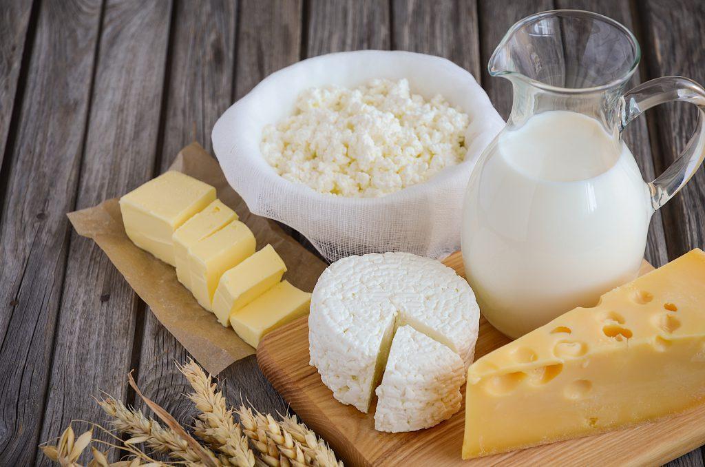 Третья молочная ступень пирамиды здорового питания человека