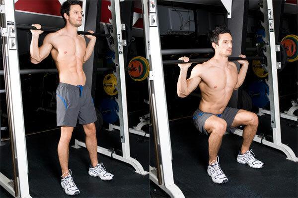 5 видов приседаний для тренировки ног
