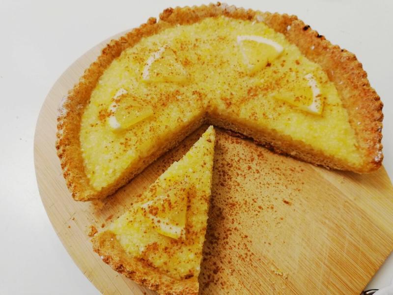 Пирог для худеющих на 180 ккал. Простой рецепт