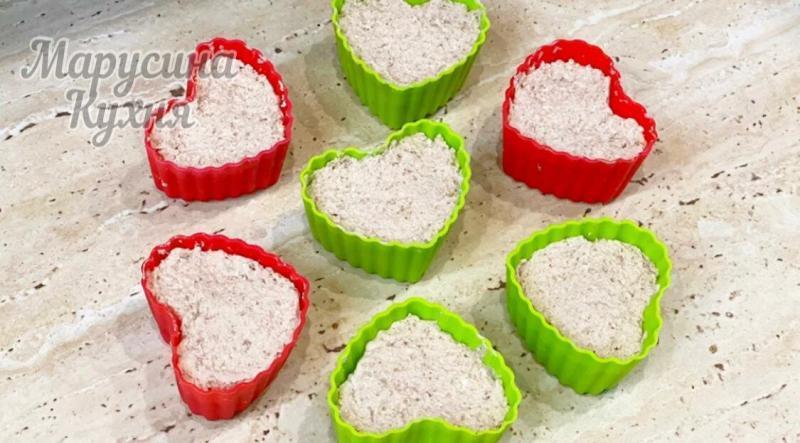 Творожные диетические кексы с отрубями без муки