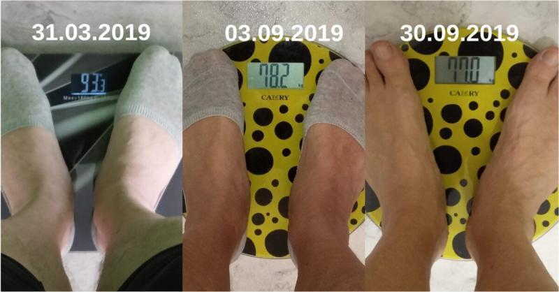 Этим летом поставил очередной эксперимент и похудел на 8 кг.