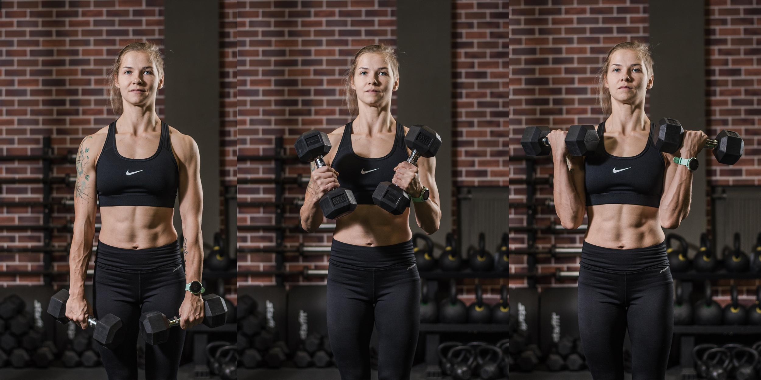 Упражнения с гантелями: кому подходят