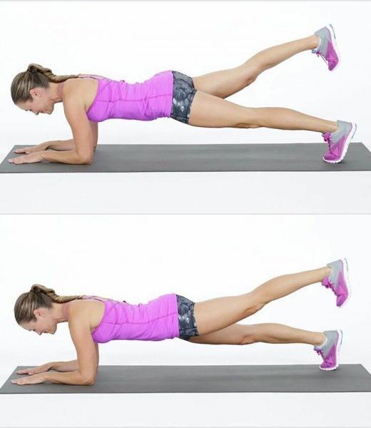 """Как убрать """"галифе"""" и рыхлость бедер за 10 минут в день: тренировка из 4х упражнений с эффектом похудения"""
