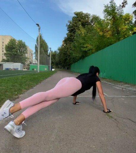 Людмила Оверковская воспринимает фитнес, как творчество