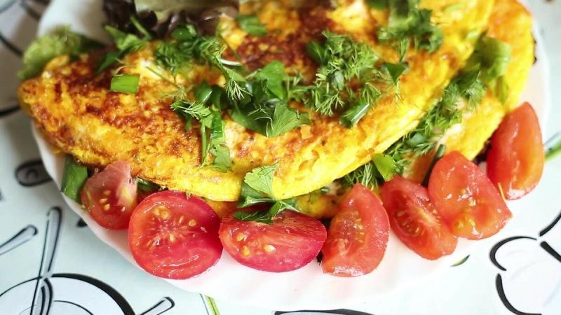 Тыква - суперфуд для женщин! Рецепт вкусного и полезного омлета из тыквы.