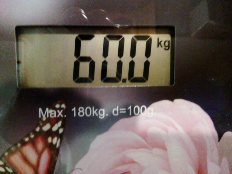 Сбросила 20 кг, продолжаю худеть, сегодня 60,0 кг