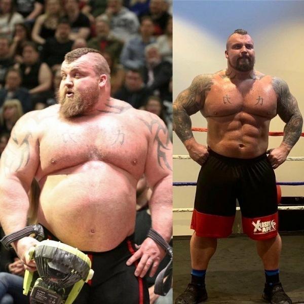 """""""Гора"""" Хафтор Бьернссон сбросил 44 кг. Дело не в откате"""