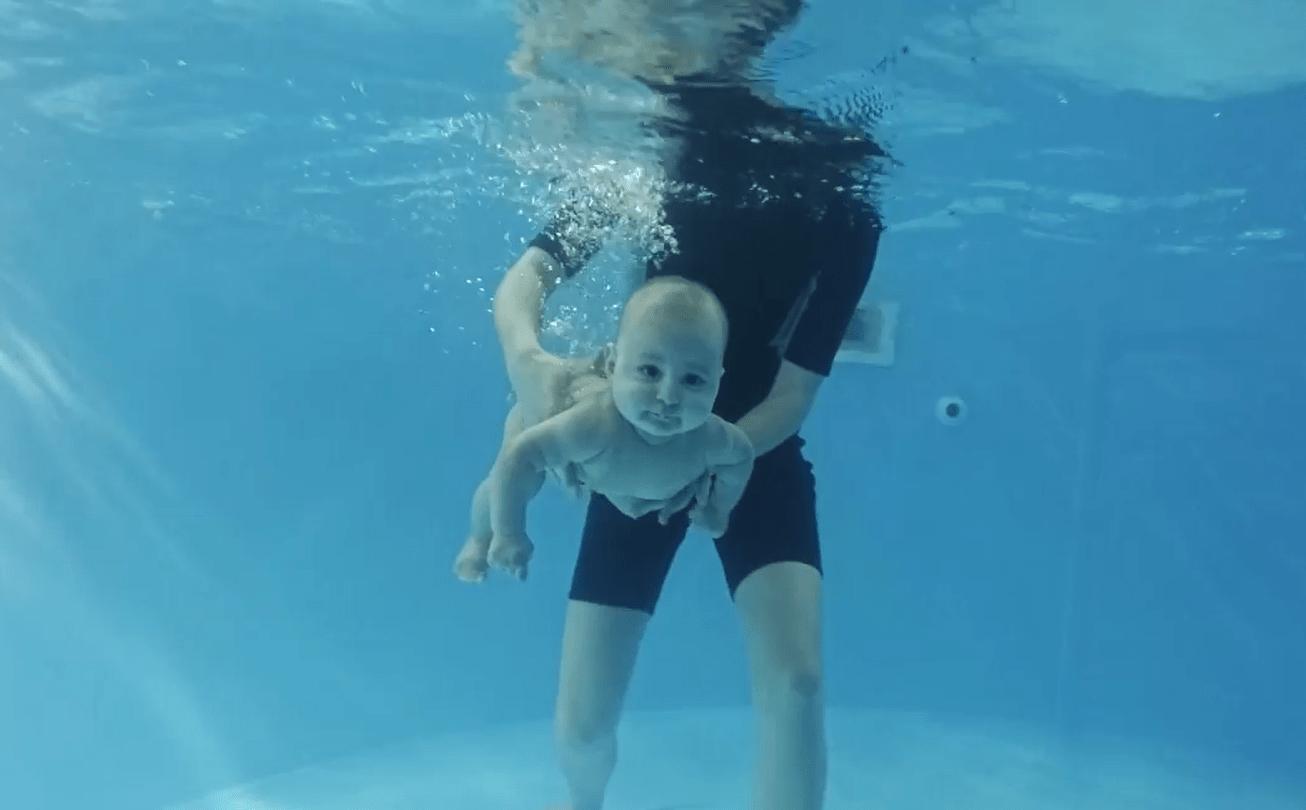 Польза грудничкового плавания
