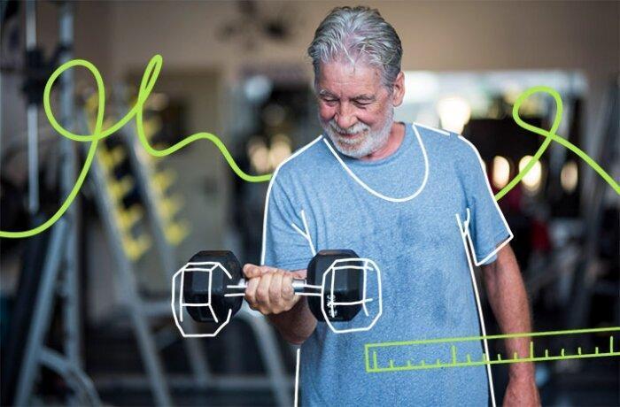 Как сбросить вес, если вам за 60