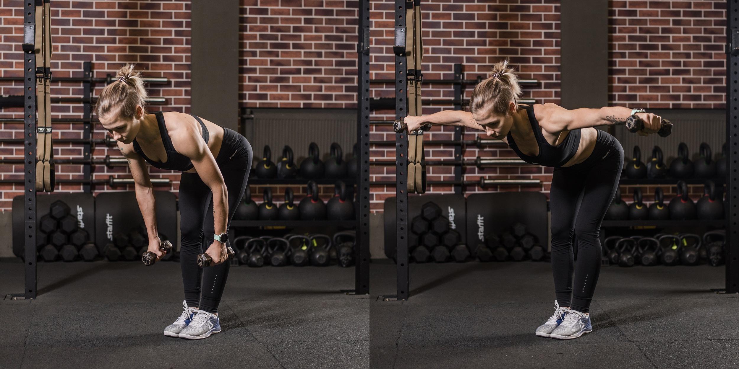 Тренировки с отягощениями: гантели для фитнеса