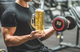 Алкоголь и спорт – совместимы? Можно ли пить пиво после тренировки.