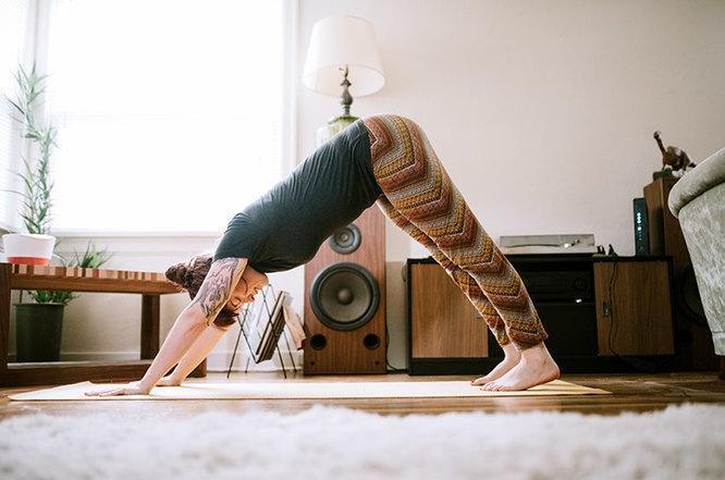 Фитнес дома - эффективное упражнение для похудения: тренировка за 20 минут