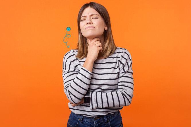 Комок в горле и другие проблемы с шеей, от безвредных до очень опасных