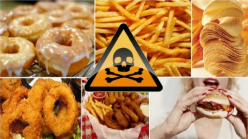 Продукты, вызывающие рак